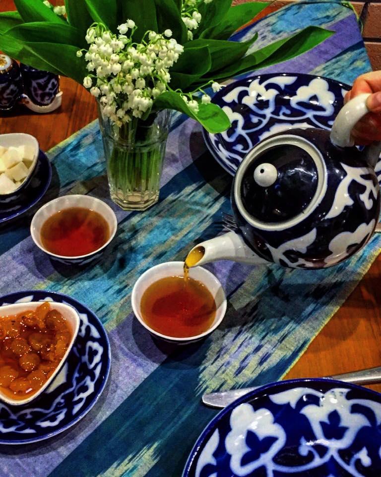 Узбекский чай. Традиции и рецепты.