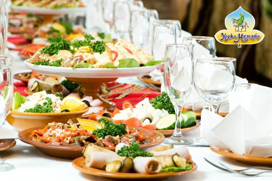 Новогодний кейтеринг от узбекского ресторана «Ходжа Насреддин»